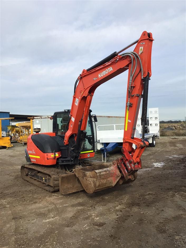 Kubota KX080-3 Hydraulic Excavator