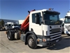 2000 Scania 94G 4x2 Prime Mover Crane Truck