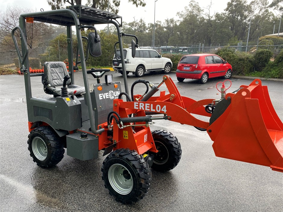 2021 Unused Brumby by Everun Battery Electric Articulated Wheel Loader