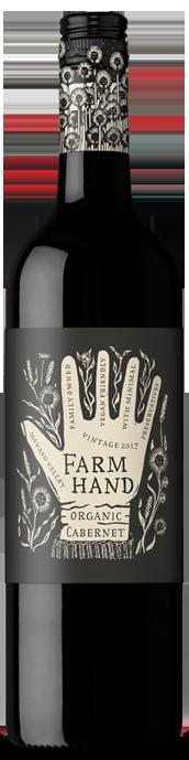 Farm Hand Organic Cabernet Sauvignon 2020 (6 x 750mL), SA.