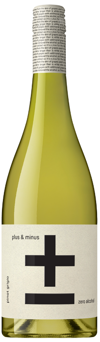 Plus & Minus (Zero Alcohol) Pinot Grigio (6x 750mL)