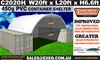 2021 Unused Heavy duty 20ft Container Shelter with end wall