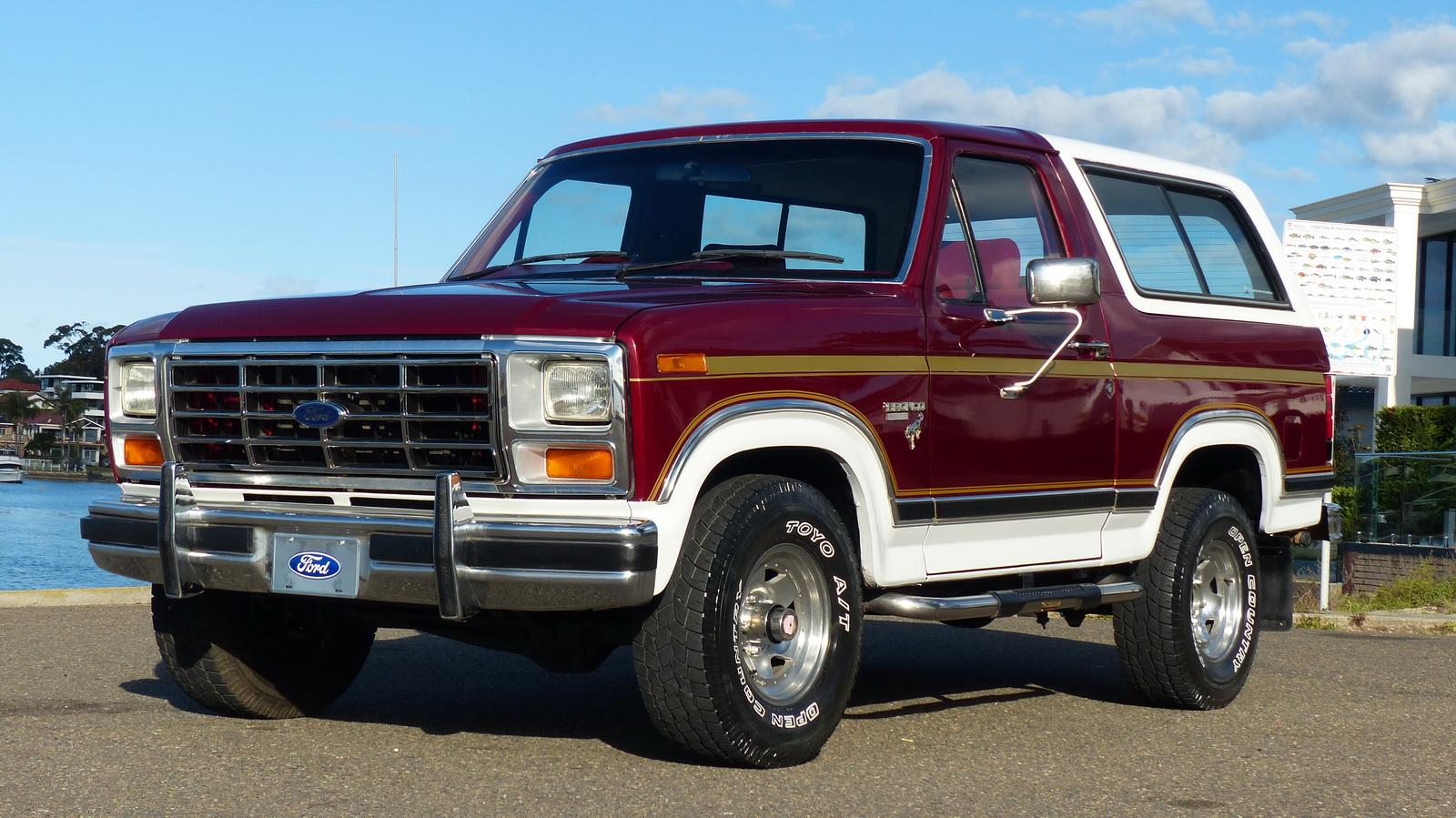 Ford Bronco XLT 4WD XLT Automatic Wagon