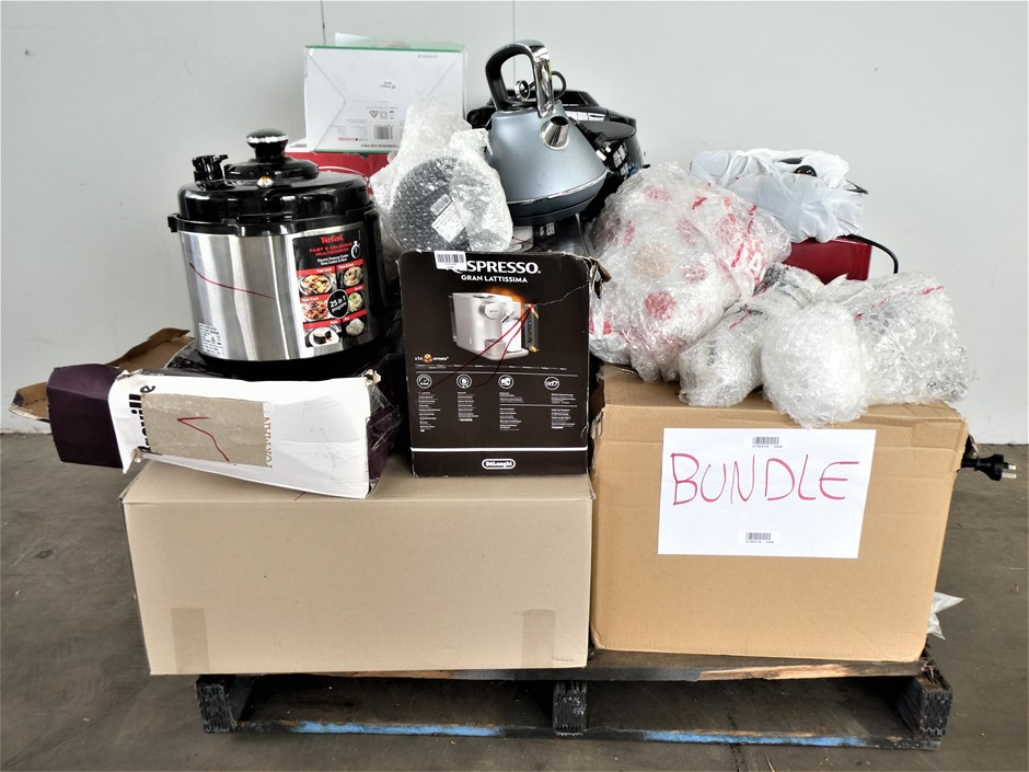 Pallet of Assorted Used & Untested Kitchen Appliances