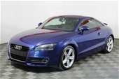 Unreserved  2011 Audi TT 2.0 TFSI Quattro 8J Automatic Coupe