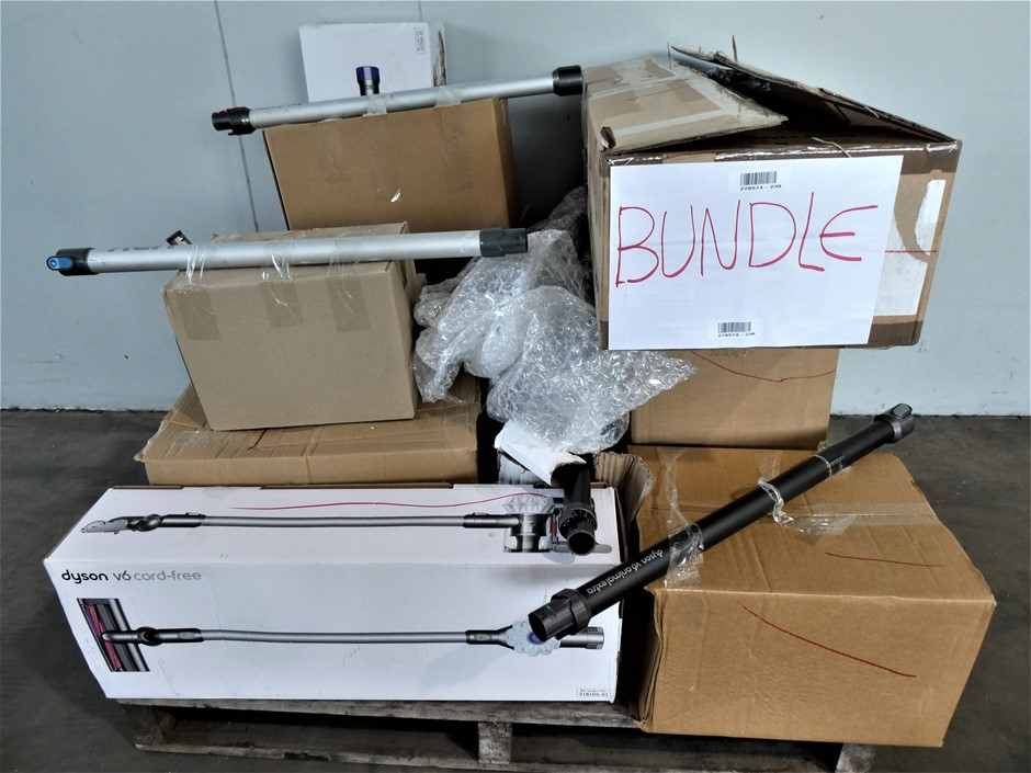 Pallet of Assorted Used & Untested Vacuum Cleaners