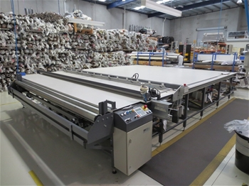 Blind Manufacturing Equipment Insolvency Sale