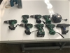 <p>Assorted HITACHI Drills and Charger </p>