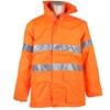 ACE Hi-Viz Breathable All Weather Jacket Size 4XL/5XL (127cm) Zip/Velcro Fr