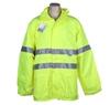TORNADO Hi-Viz Breathable All Weather Jacket Size 4XL, Zip/ Velcro Front Cl