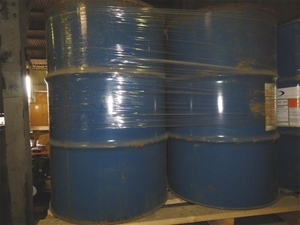 Pallet of 4 x 200lt drums of oil spill dispersant, Dasic Int , Slickgone NS