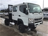 2012 Mitsubishi Fuso 4x4 Tray Body Truck