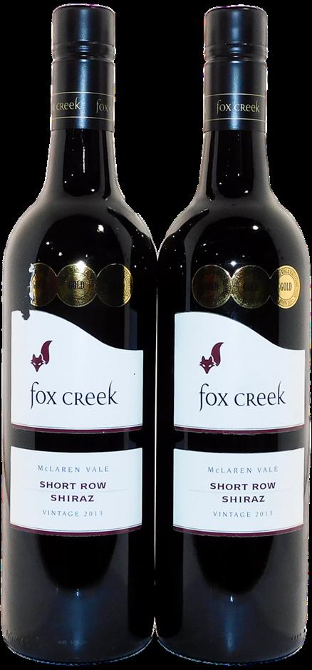 Fox Creek Short Row Shiraz 2013 (2x 750mL), McLaren Vale