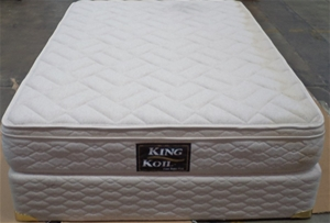 King Koil Crest Super Firm Double Mattress With Ensemble