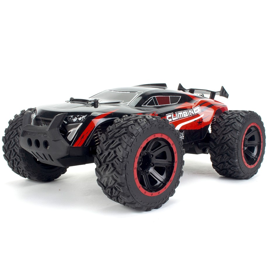 High Speed RC Off-Road Monster Truck Toy - Red