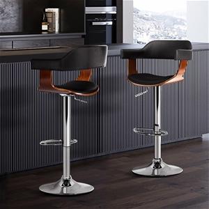 Artiss 2x Wooden Bar Stools SELINA Kitch