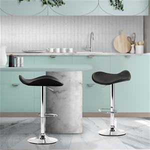 Artiss Set of 2 PVC leather Kitchen Bar