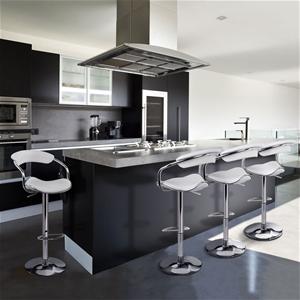 Artiss 4x Leather Bar Stools ADE Kitchen