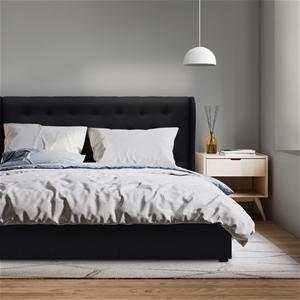 Artiss Queen Size Gas Lift Bed Frame - C