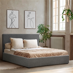 Artiss Queen Size Fabric and Wood Bed Fr