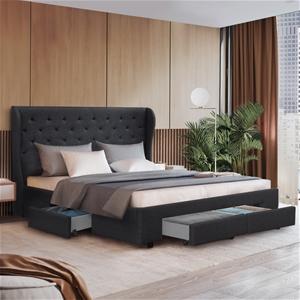 Artiss King Size Bed Frame Base Mattress