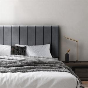 Artiss King Size Fabric Bed Headboard -