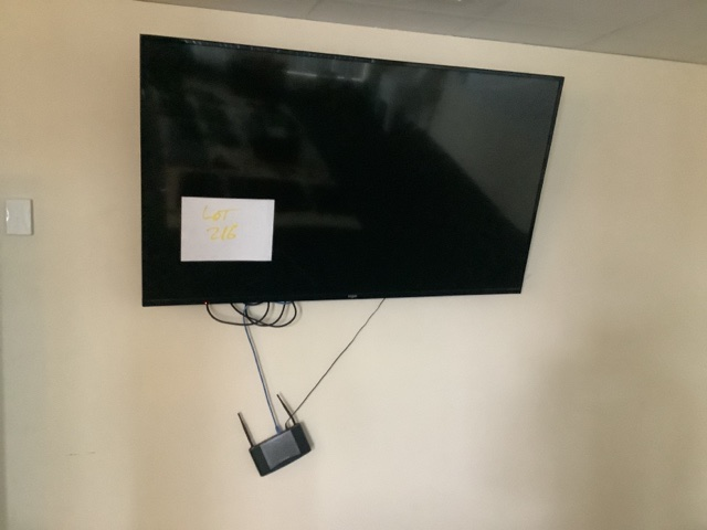 60 inch Kogan LCDTV and accessories