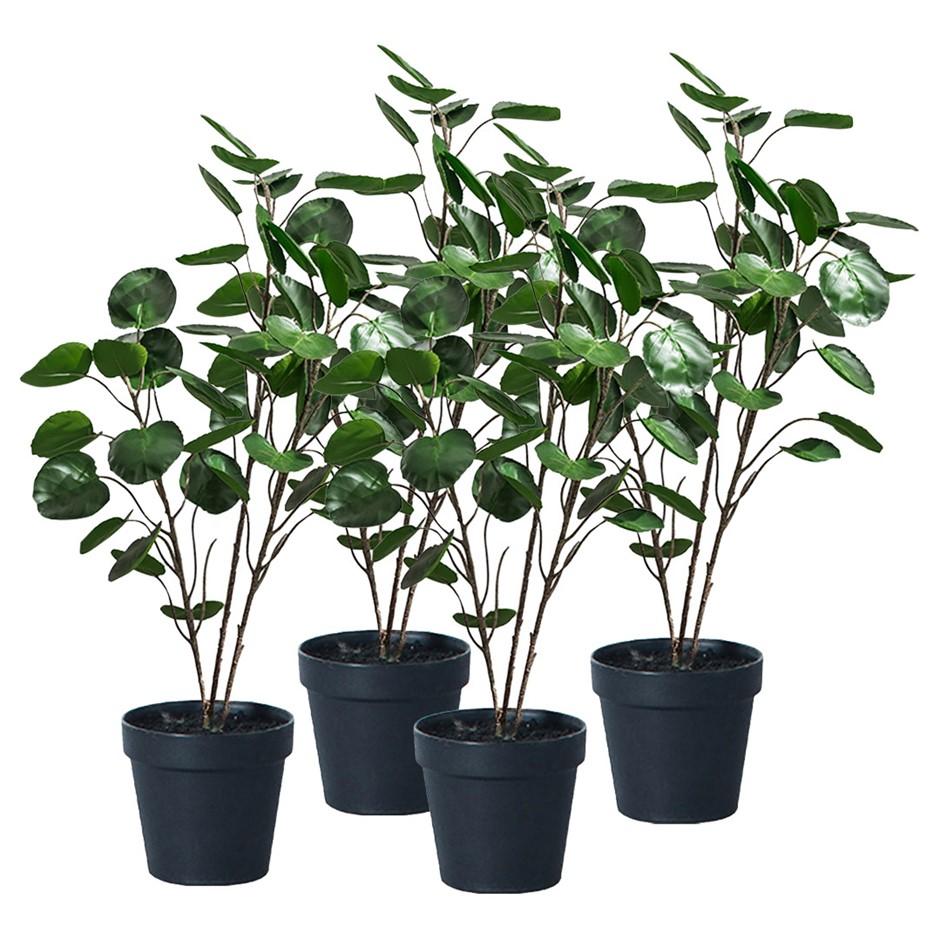 SOGA 4X 95cm Artificial Indoor Pocket Money Tree Fake Plant Simulation