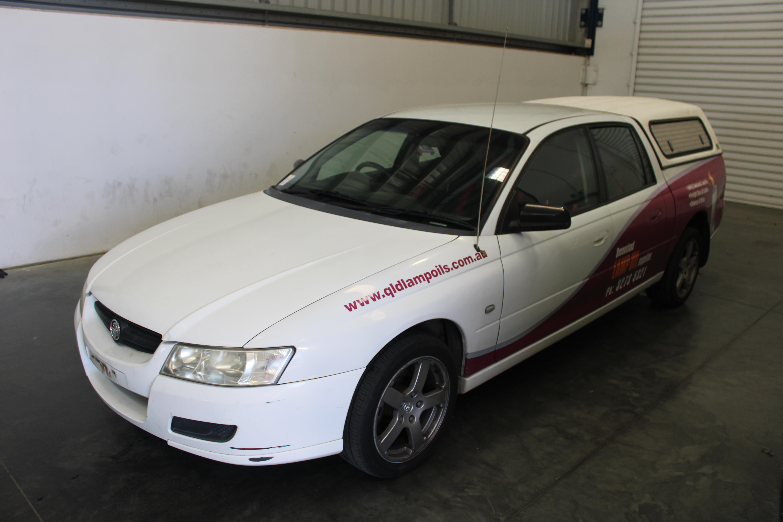 2007 Holden Crewman VZ Manual Dual Cab(WOVR+INSPECTED)