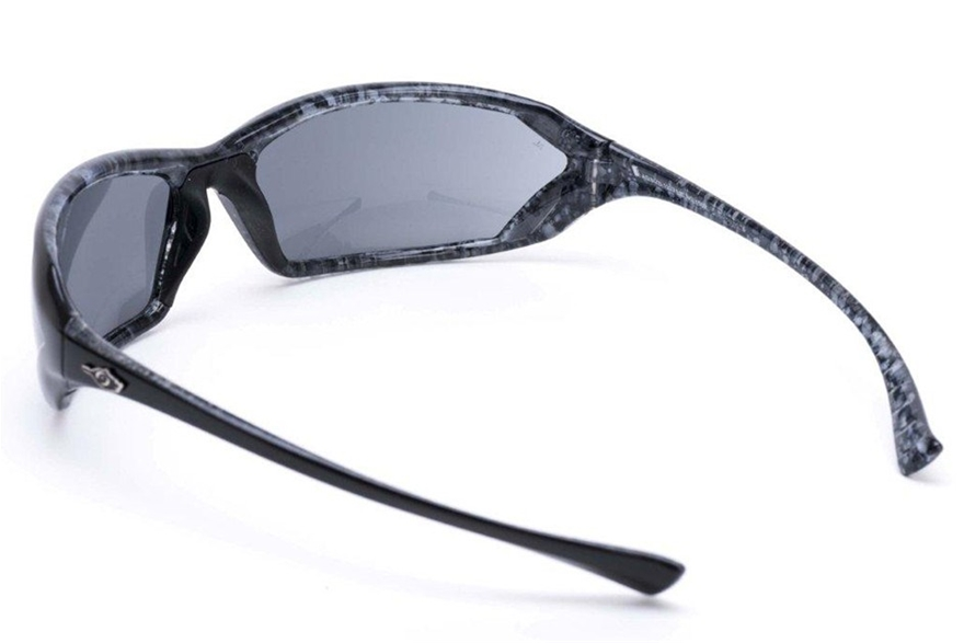 Zip Glasses Frame : MSA SAFETY Glasses Gloss Black Marbled Frame Smoked Lens ...