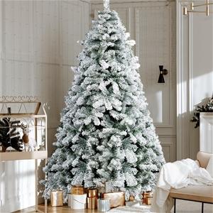 Christmas Snowy Tree 1.8m - 520 Tips
