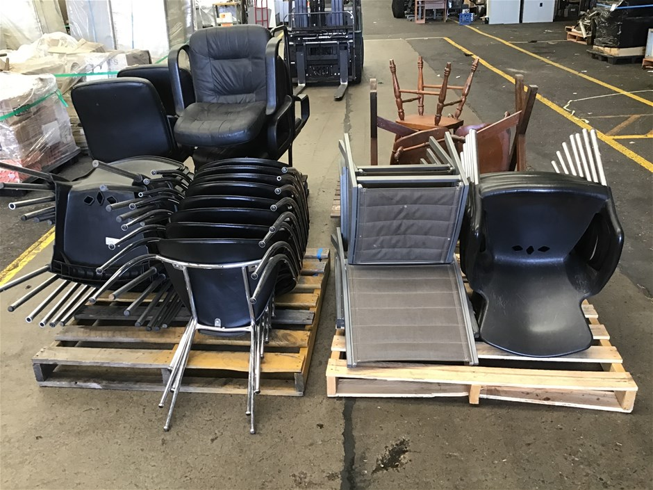 Qty 4 x Pallets Of Chairs