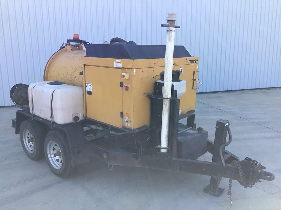 2013 Vermeer V250 Trailer Mounted Vacuum Excavator (Pooraka, SA)