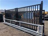 2021 Heavy Duty Wrought Iron Style Entrance Drive Way Gates