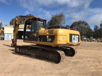 2008 Caterpillar 329DL Hydraulic Excavator
