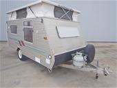 1999 Coromal Cygnet 400 Top Pop Caravan