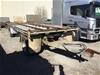 2001 Norden  Body Works Container Tandem Dog Trailer