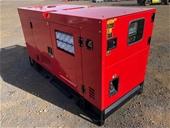 2021 Unused 60kVA & 40kVA Generators - Toowoomba