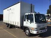 2000 Hino FD 6x2 Curtainsider Rigid Truck