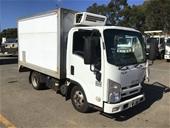 Unreserved 2010 Isuzu NLR 4x2 Refrigerated Body Truck (WOVR)
