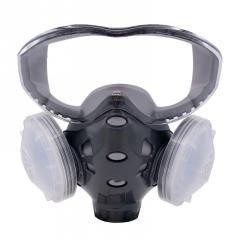 Dust-Proof Respirator with Goggles