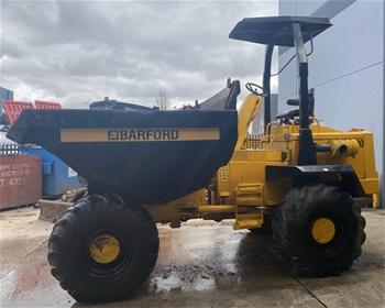 Barford SX8000 Site Dumper