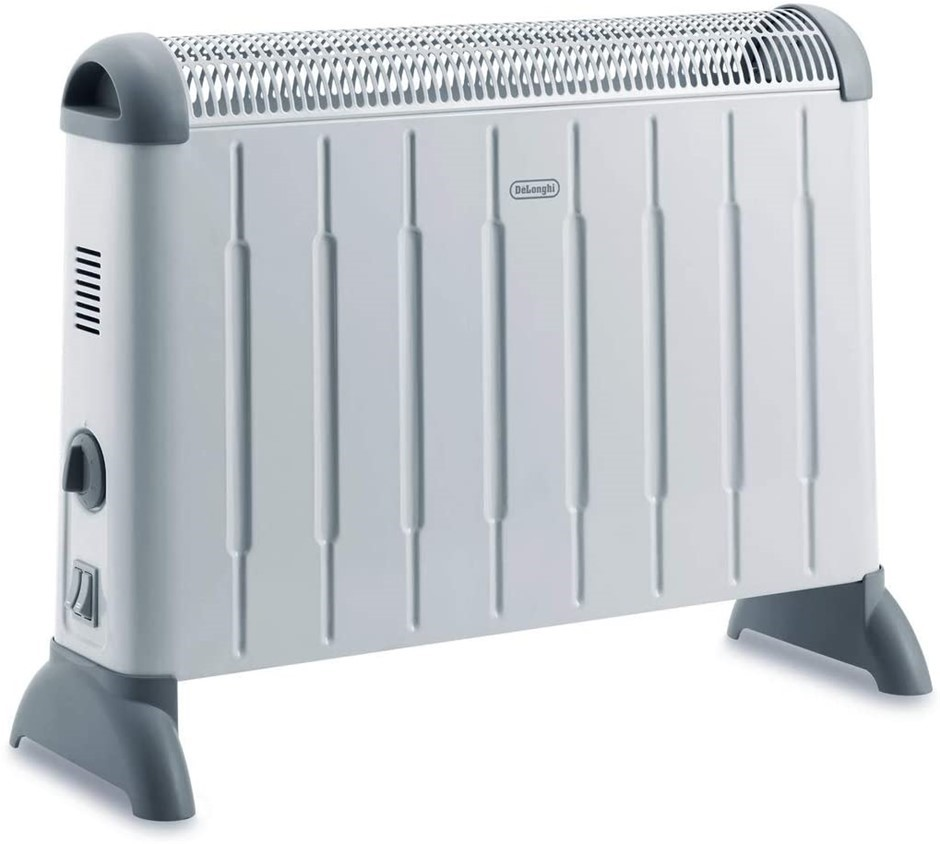 DE'LONGHI Portable Convection Heater, 2000W, Colour: White. Buyers Note - D