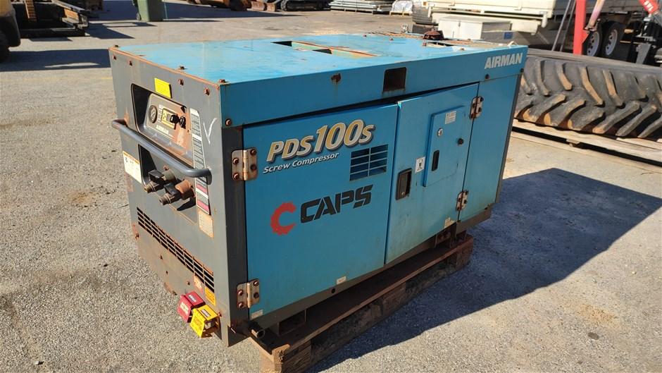 AIRMAN PDS100S Enclosed Compressor