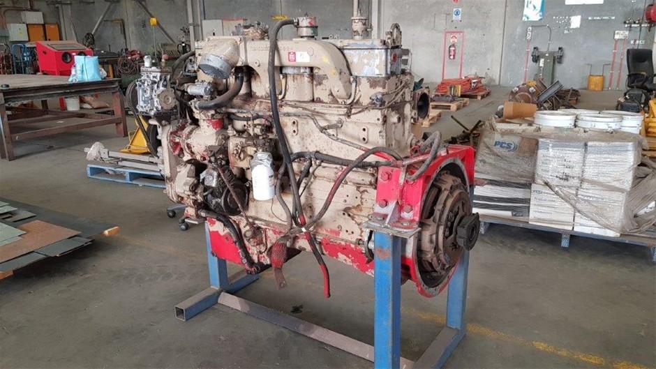 6 Cylinder Cummins Engine (Diesel)