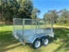 8 x 5 Tandem Axle Trailer 2000kg + 900mm Cage