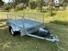 8 x 5 Single Axle Braked Trailer 1500kg + 600mm Cage