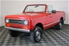 1978 International Harvester Scout Automatic Ute