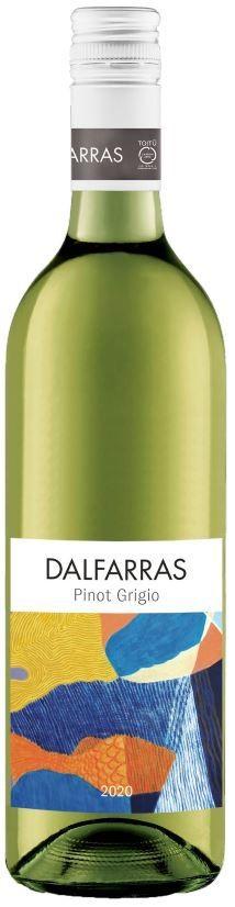 Dalfarras Pinot Grigio 2020 (12x 750mL)