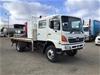 <p>2007 Hino  GT 4 x 4 Tray Body Truck</p>